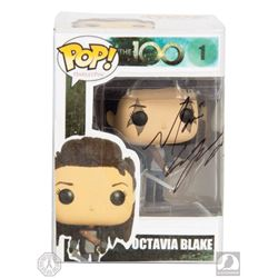 The 100 Octavia Custom-Made Pop! Figure Signed by Marie Avgeropoulos