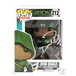 Arrow John Diggle Funko Pop! Figure Signed by David Ramsey