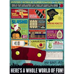 "Bad Robot ""Here's A Whole World Of Fun"" Limited Edition Art Print"