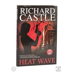 Castle Autographed Book & Photo Signed by Nathan Fillion & Stana Katic