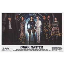 Dark Matter Poster Signed by 5 Cast Members