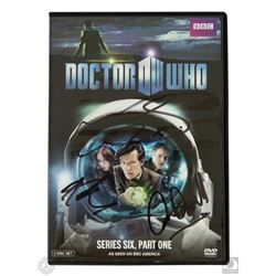 Doctor Who Series Six Part One 2-Disc DVD Set Signed by Darvill, Gillan & Smith