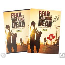 Fear the Walking Dead Season One DVD Signed by Lincoln Castellanos & Lorenzo Henrie
