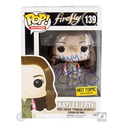 Firefly Kaylee Frye Photo and Funko Pop! Figure Signed by Jewel Staite
