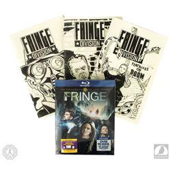 Fringe Set of 3 Authentic Screen-Used Comic Books & Season 5 Blu-ray