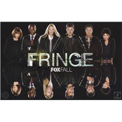 Fringe FOX Fall Promo Poster Signed by John Noble & Michael Cerveris