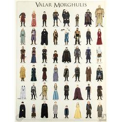"""Game of Thrones """"Valar Morghulis"""" Max Dalton Limited Edition Art Print"""