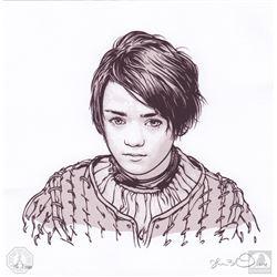 "Game of Thrones ""Arya"" Joshua Budich Limited Edition Art Print"