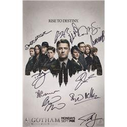 Gotham Signed Poster, Gotham SDCC 2015 Bag & Gotham Notecube
