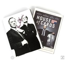 House of Cards: The Complete First Season 4-Disc DVD Set Signed by Beau Willimon