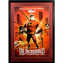 The Incredibles Framed Poster Signed by 4 Cast Members
