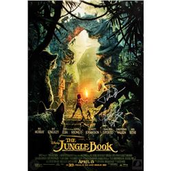 The Jungle Book 2016 Soundtrack & Poster Signed by Giancarlo Esposito & John Debney