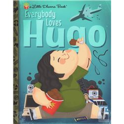 """LOST """"Everybody Loves Hugo"""" Little Dharma Book Giclee Art Signed by Jorge Garcia"""