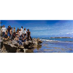 LOST Foam Core Season Two Cast on Island Rock Photo