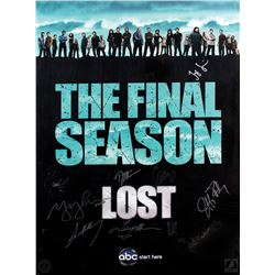 LOST the Final Season Poster Signed by 10 Cast Members