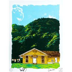 "LOST ARG Limited Edition ""The Barracks"" Art Print Signed by Carlton Cuse & Damon Lindelof"
