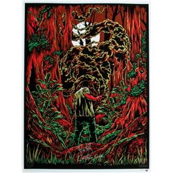 """LOST ARG Limited Edition """"The Smoke Monster"""" Art Print Signed by Carlton Cuse & Damon Lindelof"""