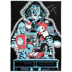 """LOST ARG Limited Edition """"The Numbers"""" Art Print Signed by Jorge Garcia"""
