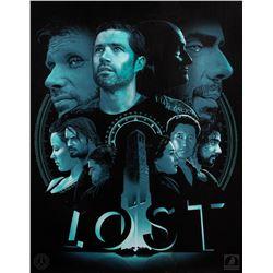 "LOST ""The Candidates"" Joshua Budich Print"