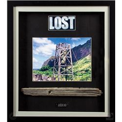 LOST Custom Framed Jughead Tower Piece