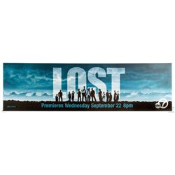 LOST Season One Panoramic Marquee Sign