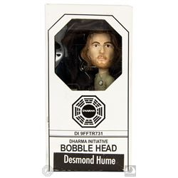 LOST Desmond Hume Bobblehead Signed by Henry Ian Cusick