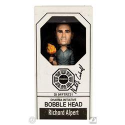 LOST Richard Alpert Bobblehead Signed by Nestor Carbonell