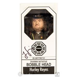 LOST Hurley Bobblehead Signed by Jorge Garcia