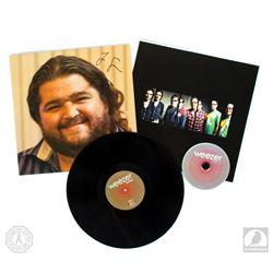 "Weezer ""Hurley"" LOST Vinyl Record Album Signed by Jorge Garcia"