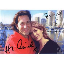 LOST Iconic Desmond and Penny Photo Signed by Henry Ian Cusick and Sonya Walger