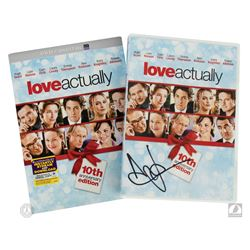 Love Actually 10th Anniversary Edition DVD Signed by Andrew Lincoln