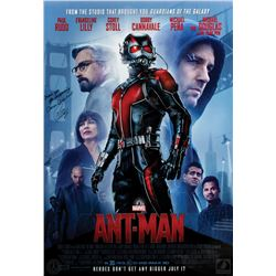 Marvel Ant-Man Poster Signed by Evangeline Lilly