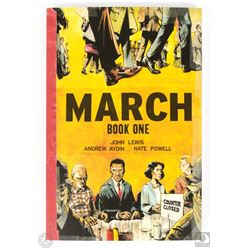 March: Book One Graphic Novel Signed by Rep. John Lewis