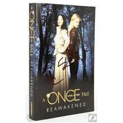 Once Upon a Time: Reawakened Paperback Book Signed by Adam Horowitz & Eddy Kitsis