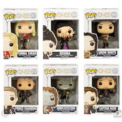Once Upon a Time Funko Pop! Vinyl Figure Set with Regina Figure Signed by Lana Parrilla