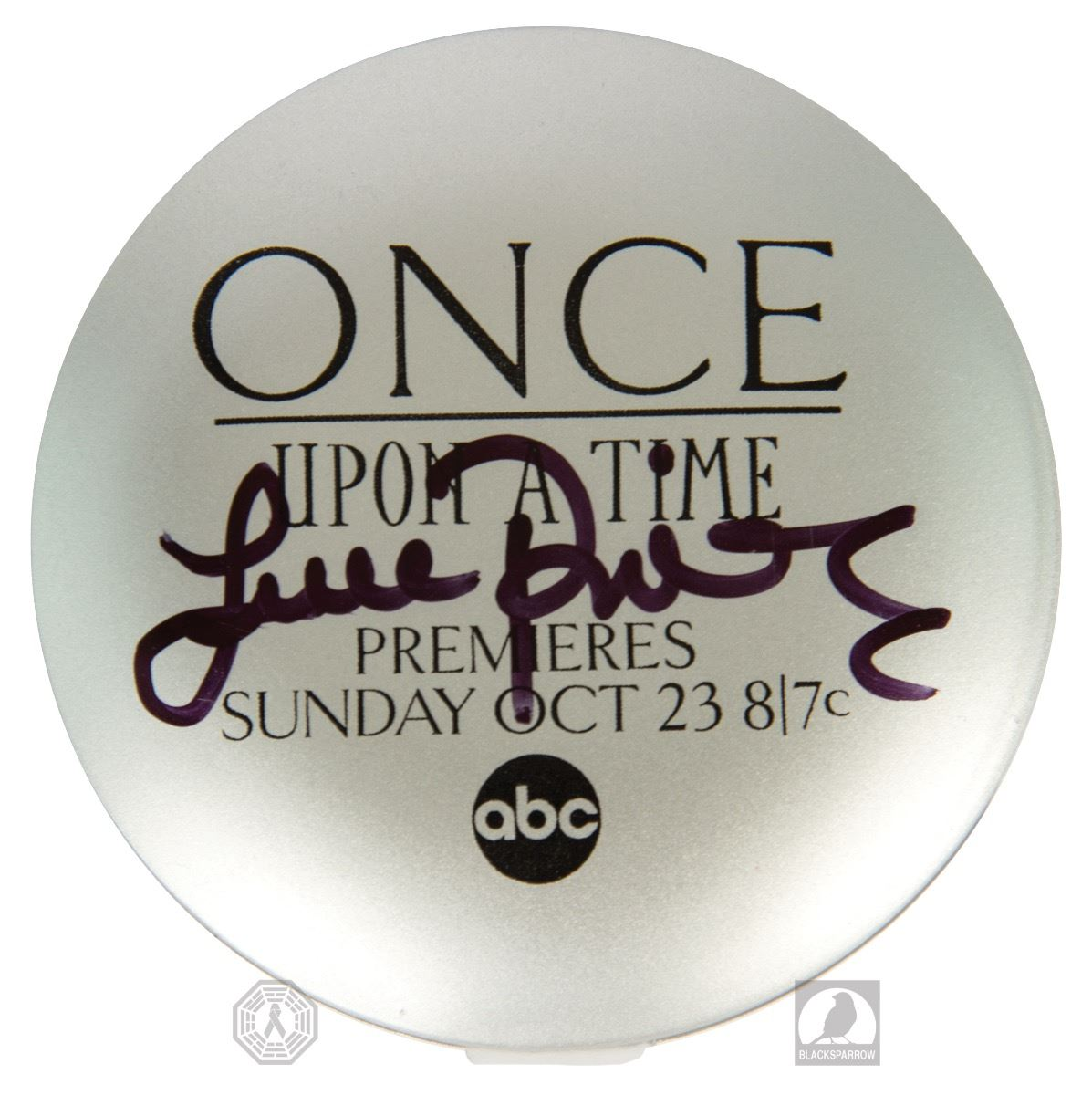 Once Upon a Time San Diego Comic Con Compact Mirror Signed by Lana Parrilla