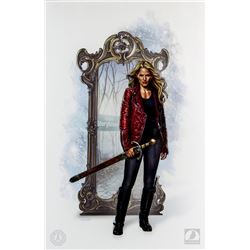 Once Upon a Time Emma Swan Art Print by Jason Palmer