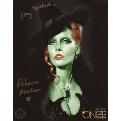 Once Upon a Time Wicked Witch Photo Signed by Rebecca Mader