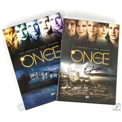 Once Upon a Time: The Complete 1st Season DVD Signed by Eddy Kitsis, Adam Horowitz & Lana Parrilla