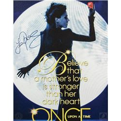 Once Upon a Time Regina Canvas Print Signed by Lana Parrilla