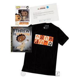 Orange is the New Black T-Shirt, Crazy Eyes Print and Funko Pop! Figure