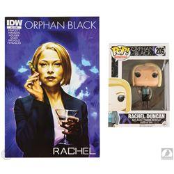 Orphan Black Funko Pop! Rachel Figure & Comic Book