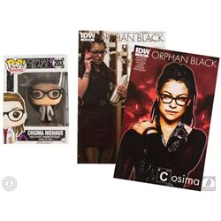 Orphan Black Funko Pop! Cosima Figure & Comic Books