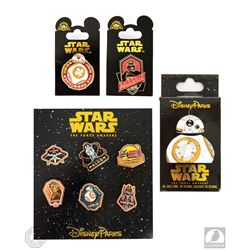 Star Wars: The Force Awakens Disney Pin Package