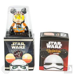"Star Wars Vinylmation Luke Skywalker X-Wing Pilot & Stormtrooper 3"" Collectible Figure Set"