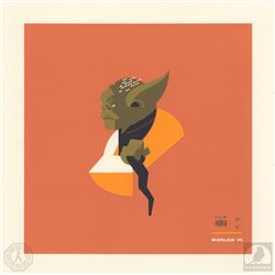 Star Wars Yoda & Greedo Limited Edition Tom Whalen Art Print Set
