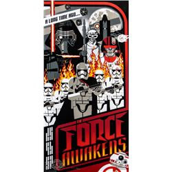 Star Wars: The Force Awakens Limited Edition Silkscreen Print by Mark Daniels