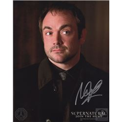 Supernatural Crowley Photo Signed by Mark Sheppard