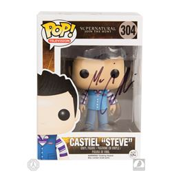 "Supernatural Castiel ""Steve"" Funko Pop! Figure Signed by Misha Collins"
