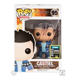 Supernatural Castiel 2015 Summer Convention Funko Pop! Figure Signed by Misha Collins